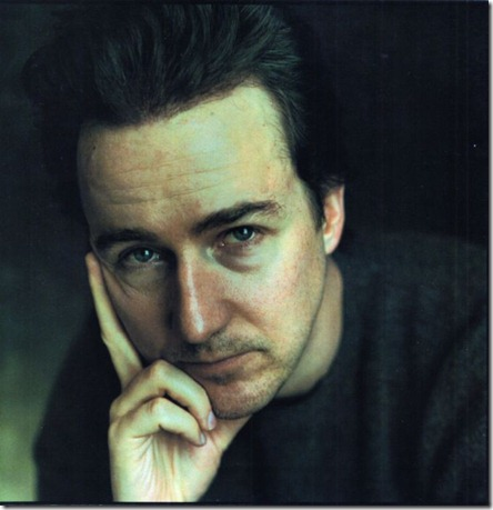 Edward's hairline after his hair transplant: edward norton - after 2