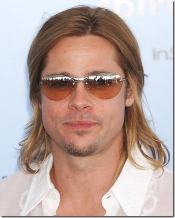 Image of Brad Pitt Hair Transplant