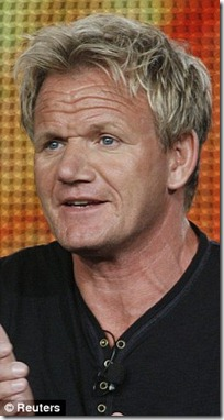 gordon ramsay hair transplant - after