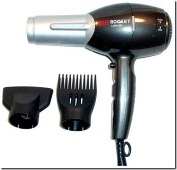 01 - farouk chi 2100 rocket low emf hair dryer