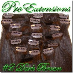 Pro Extensions #2 Dark Brown